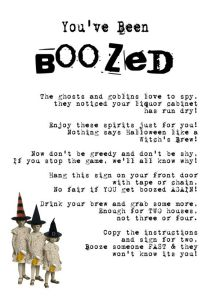 Boozed Instructions