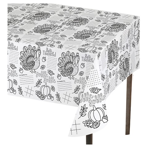 Thanksgiving Activity Tablecover